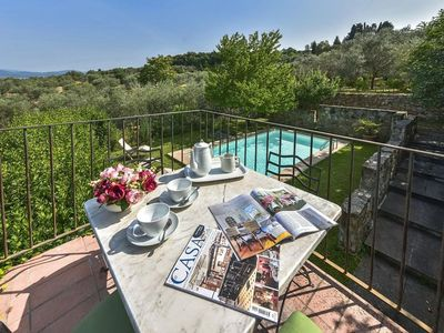 Photo for Spacious Villa Osteria apartment in Florence with WiFi, integrated air conditioning, private roof t…