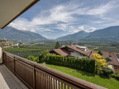 Photo for Charming Apartment VII in Residence Margreth with Mountain View, Balcony, Garden, Terrace & Wi-Fi; Parking Available; Pets Allowed