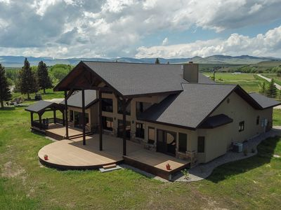Photo for Luxury Home On The Madison River Near Ennis Montana