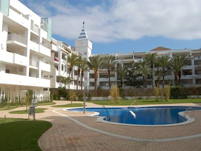 Photo for Nice and modern apartment in Marine Sta. Margarida / Roses, 1,6 km from the beach and 800