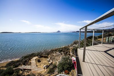 Enjoy this view from the back deck during your stay