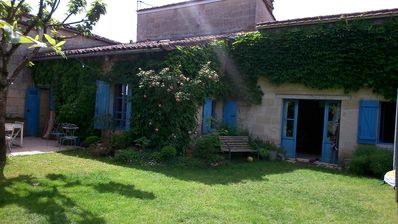Photo for Family stone house in the village of Créon, near Bordeaux