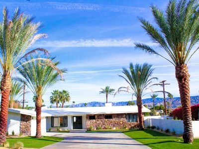 Photo for Coachella Fest, Cool, Clean, Sophisticated & Functional Mid Century Modern
