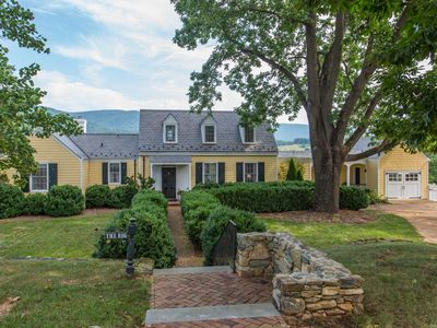 """Photo for Beautiful Cottage at Historic Ramsay Estate with """"WOW"""" Blue Ridge views"""
