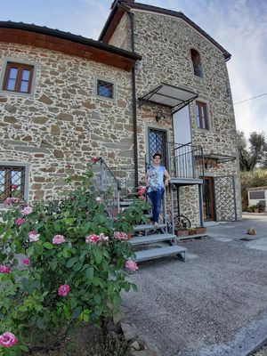Photo for stone farmhouse immersed in an olive grove of property