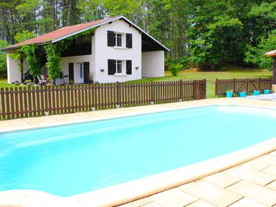 Photo for Gite With Private Pool Set Within The Forest