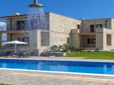 Photo for Azure Stone villa, 70m From The Beach