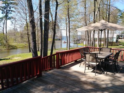 Photo for Ask me about our $135 rate!  Newly renovated! Pet Friendly! Beautiful Lakefront