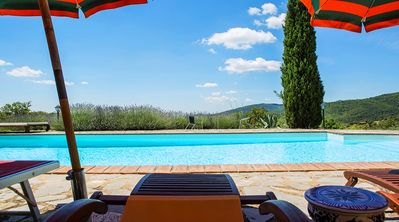 Photo for VILLA BELLAVISTA with Pool near Cortona