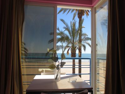 Photo for Aptos GEMA - Flat recently reformed in 1st line of Cullera with views to the beach