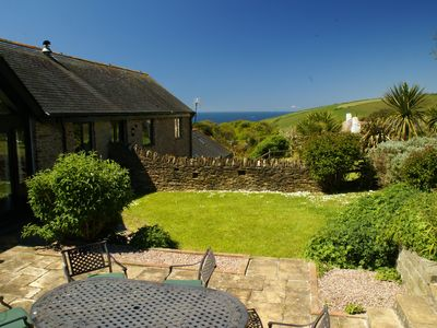 Photo for Loveley big Barn: Sea Views From Garden. Discounts June/July. Close to beach