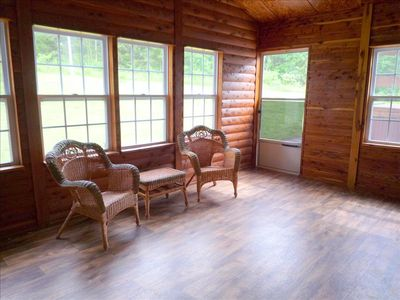 Cedar Sunroom