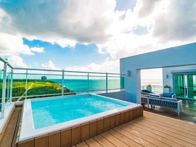 Photo for Ocean Front Penthouse Rooftop Costa Atabey 2