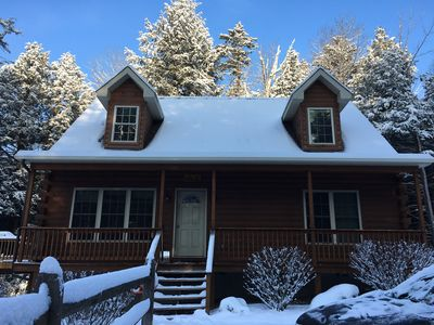 Photo for Escape to the mountains on 5 acres, 5 minutes to Windham Resort w/ all Amenities
