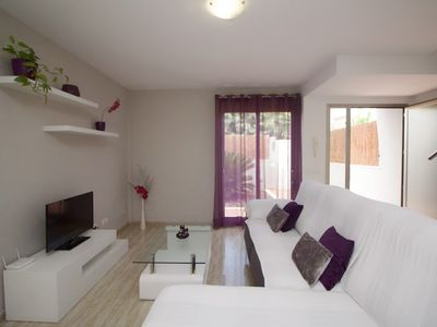 Photo for Apartment in the center of Can Picafort with Internet, Washing machine, Air conditioning, Terrace (698137)