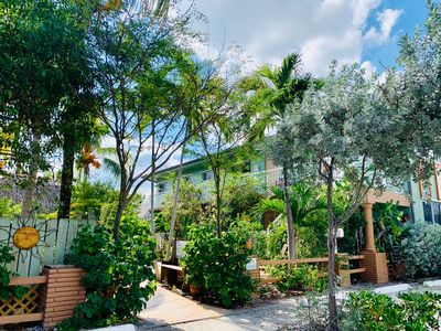 Photo for Relaxed Beach living - 1 Bed/1 Bath with Private Garden