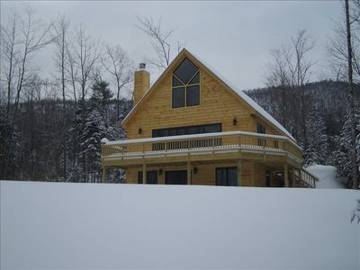 Photo for Sunday River Vacation Chalet with  Fireplace and Game Room