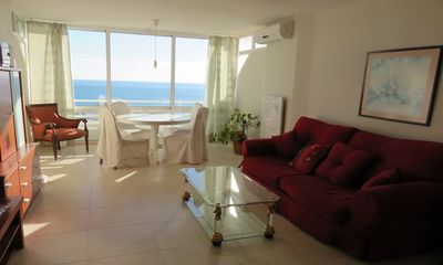 Photo for Apartment with sea views in a private complex with garden, pool and tennis court
