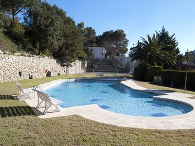 Photo for 3 bedroom Apartment, sleeps 6 in Tamariu with Pool