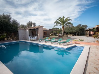 Photo for Sa Bassa Llova in quiet location, with pool and Wifi
