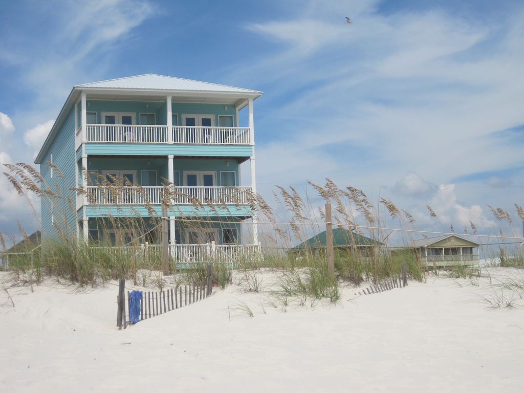14 Bedroom Gulf Front W Private Pool And Boardwalk