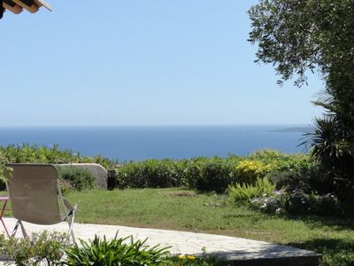 Photo for Provencal Mazet with garden et full view of sea in a Maeva village