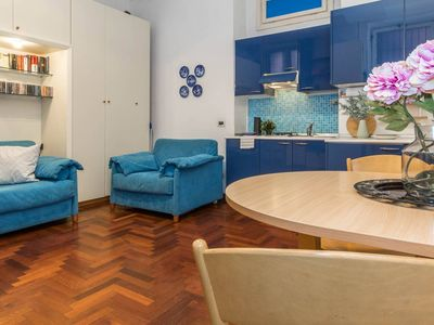 Photo for Pontida apartment in Centro Storico with WiFi & lift.