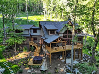Photo for Boulder View- Eagles Nest, Luxury Rustic, Fireplace, Hot Tub, Views