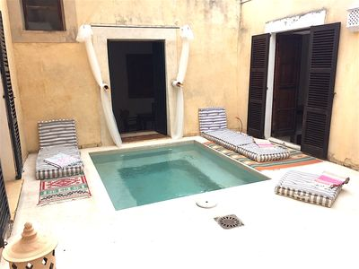 Photo for Traditional House with very private plunge pool and 30Mb Fiber WiFi