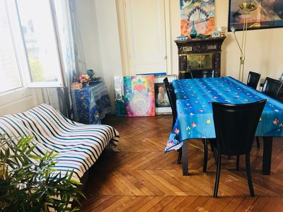 Photo for Charming apartment 20 minutes from the Champs Elysees