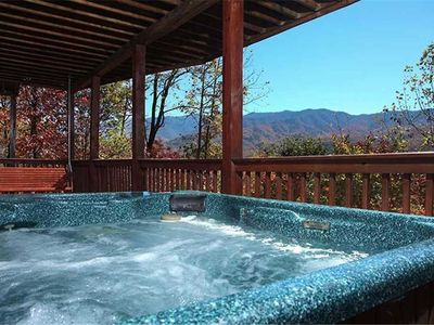 Photo for On Eagles Wings 2 Bedroom Mountain View Home with Hot Tub
