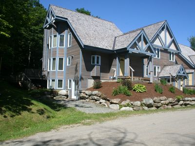 Jay Peak Resort - Luxury ski-in/ski-out, electric car friendly, 5-bedroom/4-bath