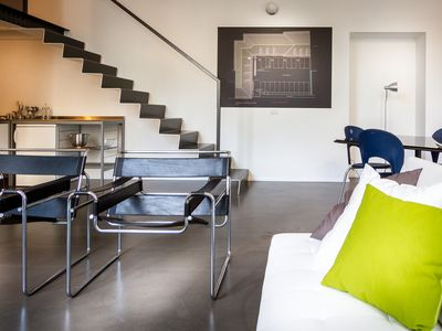 Photo for A prime location and a modern minimalist touch are the essence of this apartment in Como.