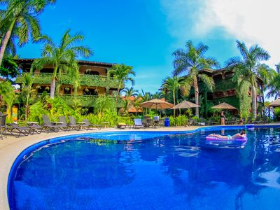 Photo for VIP - All Inclusive Luxury Condo Private Community - South Jaco Right of Beach.