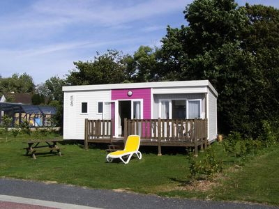 Photo for Camping L'Etang des Haizes **** - Mobile home Declik 3 rooms 4 persons