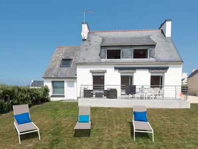 Photo for Renovated House in 2017 facing the Sea 4 bedrooms with 4 bathrooms