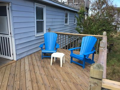 Side Deck for your morning coffee