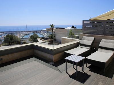 Photo for AT176 VIL.LES DE MAR: Modern house for 8 people with sea views and pool