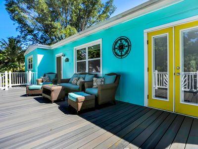 Photo for First Time Listed On Fort Myers Beach! Incl. Grill and it's steps to the beach!