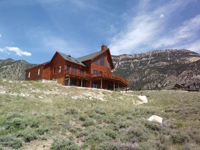 Photo for Beautiful log home on the way to Yellowstone - Live the Dream!