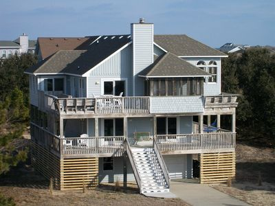 Photo for Schooner Ridge 5BR Oceanside Steps From Beach And Town, Duck, NC