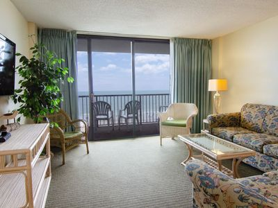 Photo for Gorgeous 2 Bedroom Oceanfront Carolina Dunes Condo!