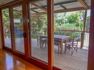 Photo for SeaLaVie@Coffins - This fantastic Coffin Bay Holiday homes is funky and versatile and situated in a