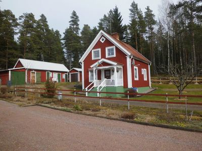 Photo for Romantic bargain, 800 m to the sea, forest location: Ideal for 6 persons!