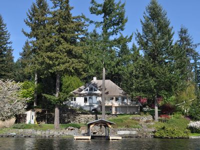Photo for Lake Sawyer, Large Estate, Landscaped Grounds, Private Dock, 100ft of Waterfront