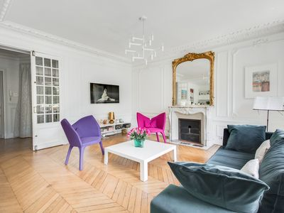Photo for Beautiful Family Home in Batignolles