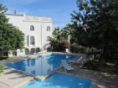 Photo for Tavira Garden modern one bedroom apartment with two cosy terraces