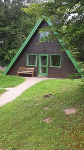 Photo for The special holiday home in the beautifully situated holiday park at the Twistestausee