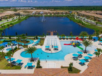 Photo for **Special Offer 10 Bed Private Spa Pool Home! Water Park Minutes from Disney🏡**