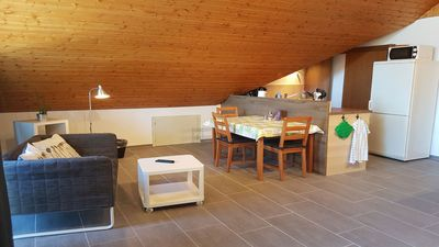 Photo for 3 stars!!! DG apartment with a covered balcony in a quiet location!